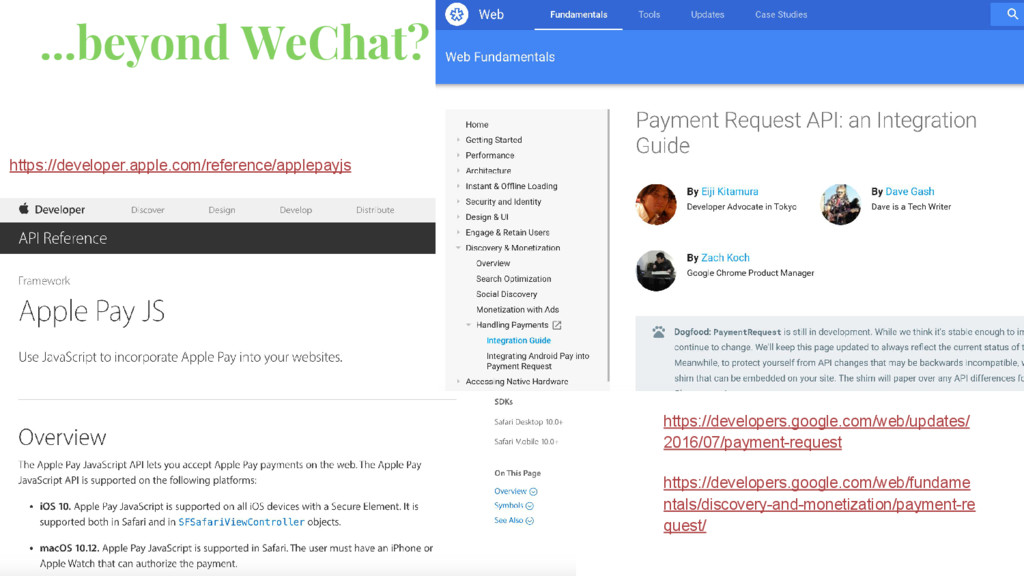 ...beyond WeChat? https://developer.apple.com/r...