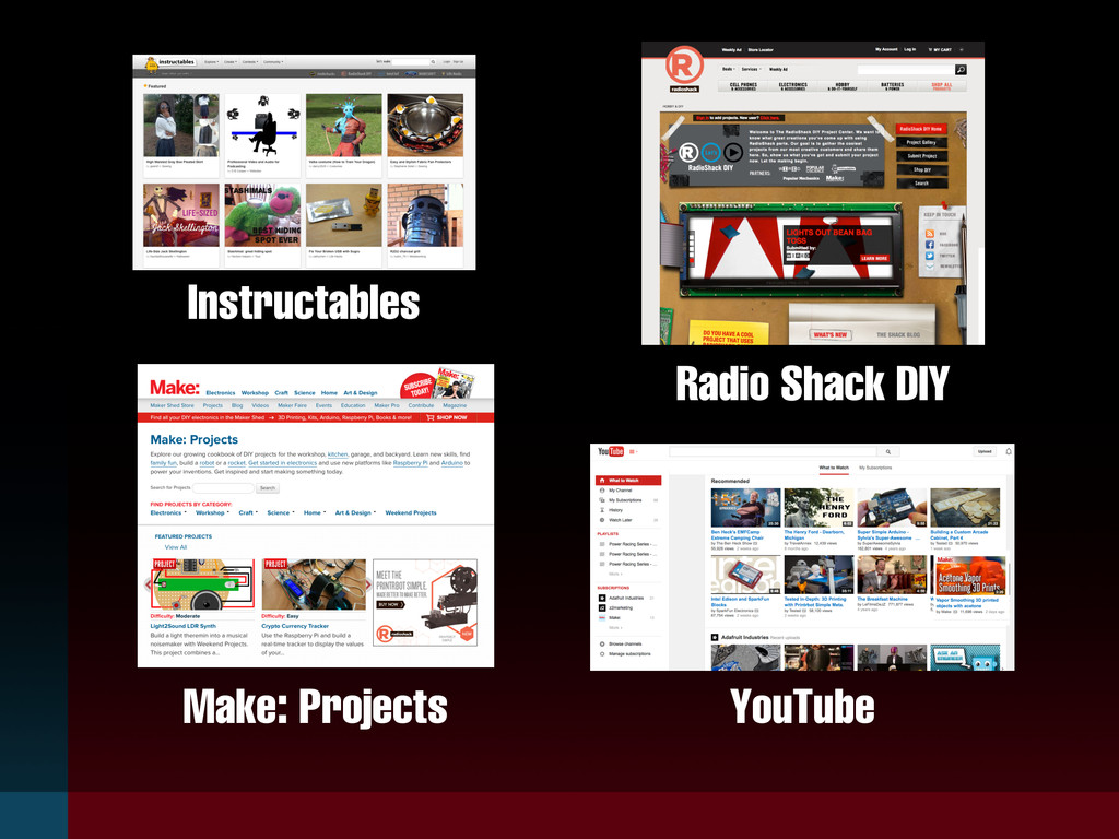 Instructables Make: Projects Radio Shack DIY Yo...