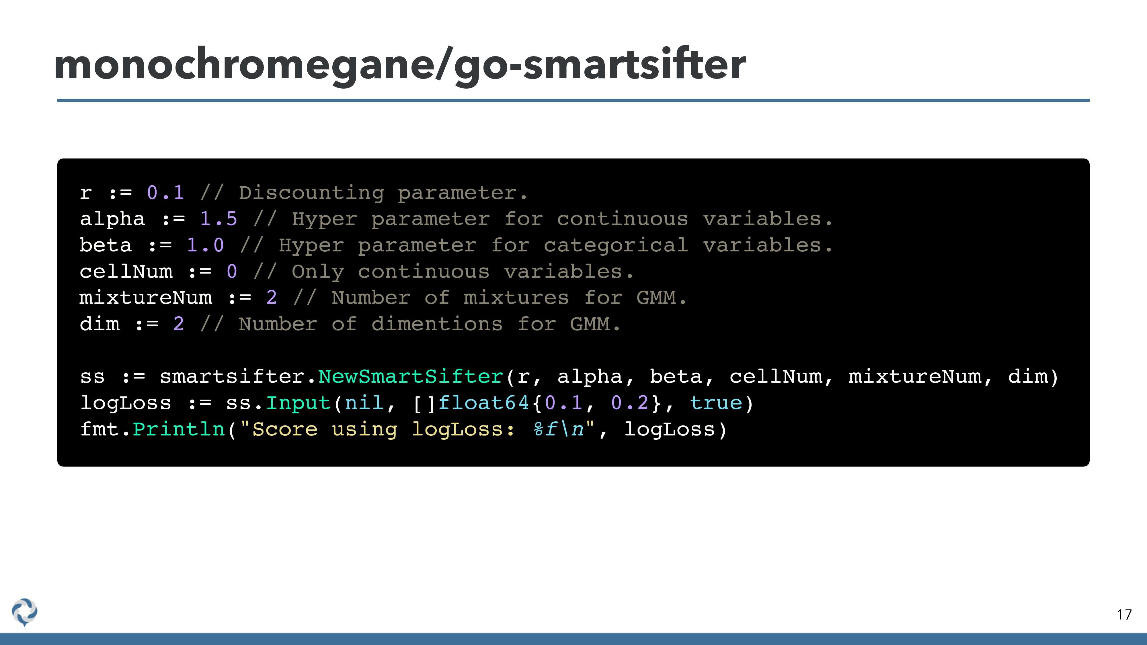 monochromegane/go-smartsifter 17 r := 0.1 // Di...