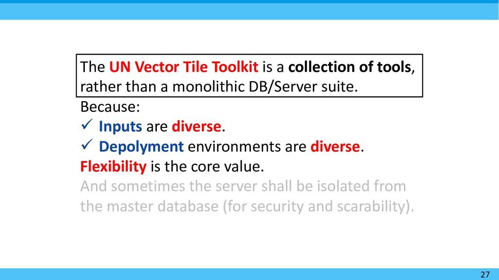 27 The UN Vector Tile Toolkit is a collection o...