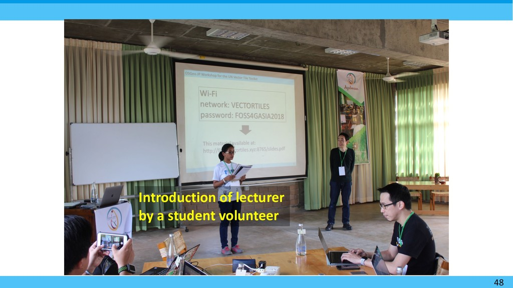 48 Introduction of lecturer by a student volunt...