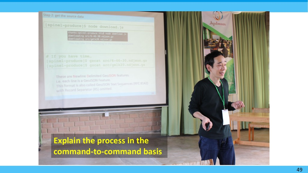 49 Explain the process in the command-to-comman...