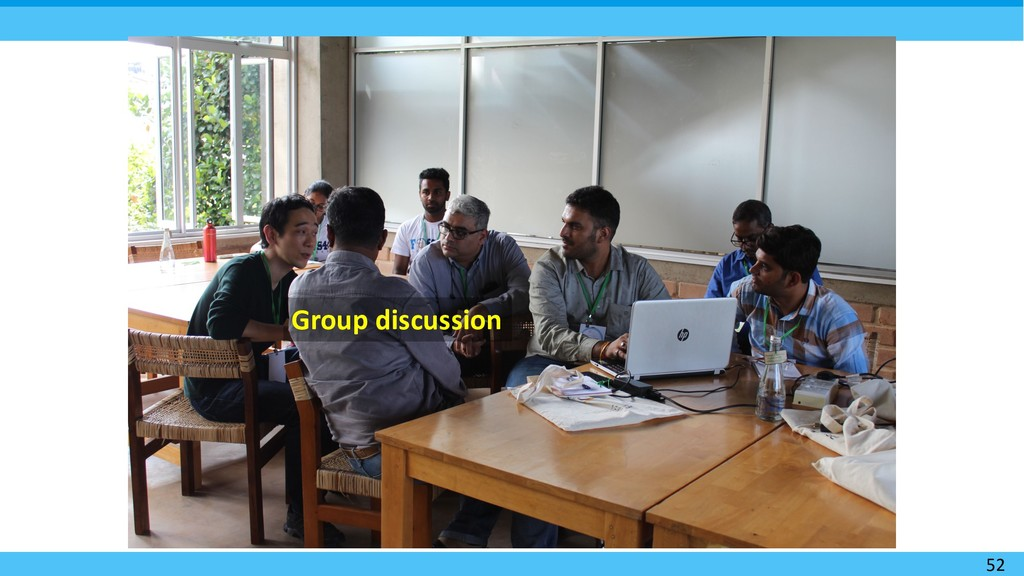 52 Group discussion