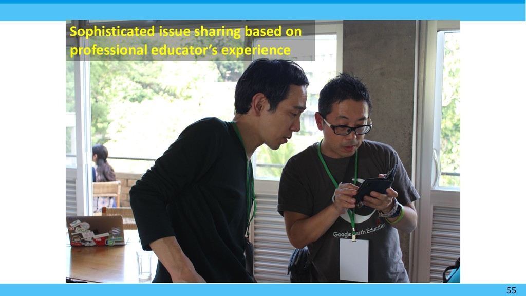 55 Sophisticated issue sharing based on profess...