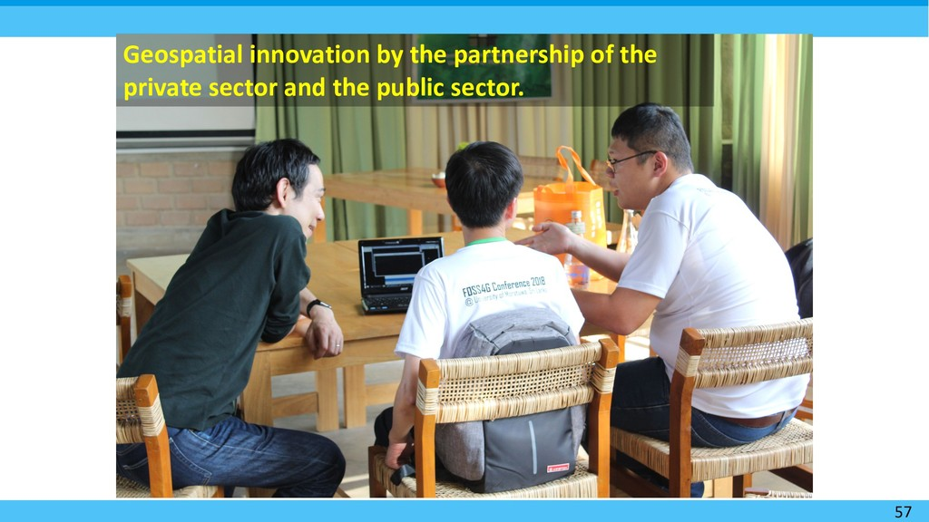 57 Geospatial innovation by the partnership of ...