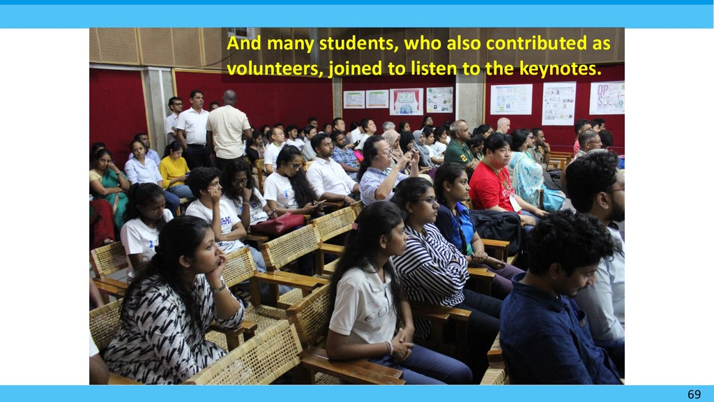 69 And many students, who also contributed as v...