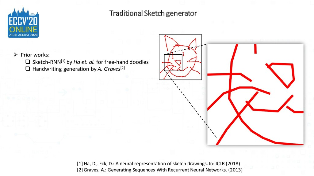 Traditional Sketch generator ➢ Prior works: ❑ S...