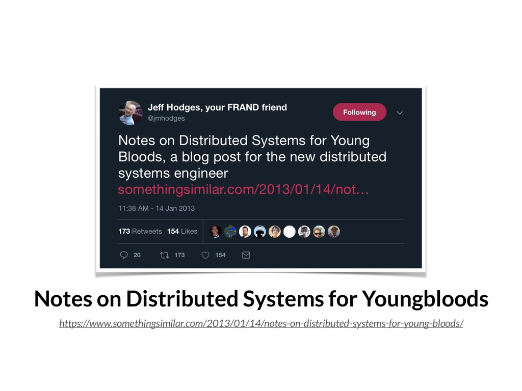Notes on Distributed Systems for Youngbloods ht...