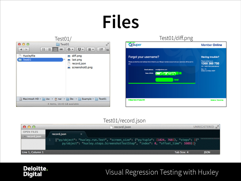 Visual Regression Testing with Huxley Files Tes...
