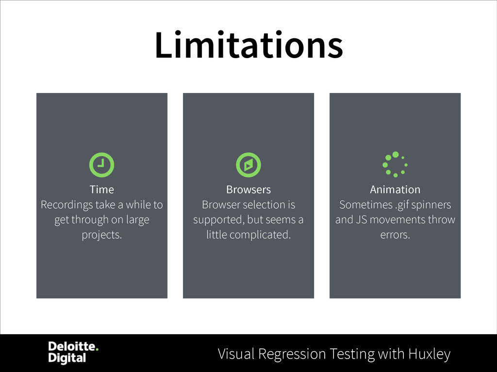 Visual Regression Testing with Huxley Limitatio...