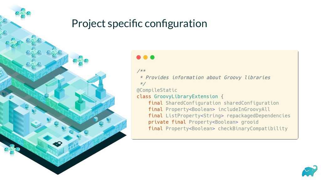 Project specific configuration