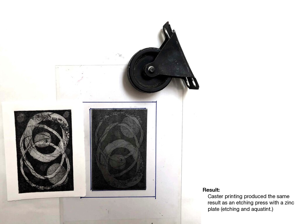 Result: Caster printing produced the same resul...