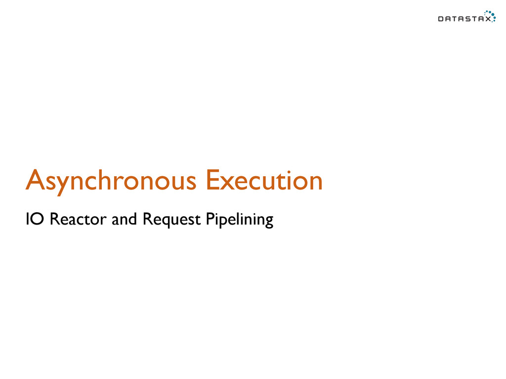 Asynchronous Execution IO Reactor and Request P...