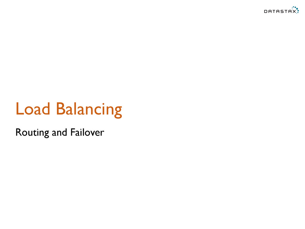 Load Balancing Routing and Failover