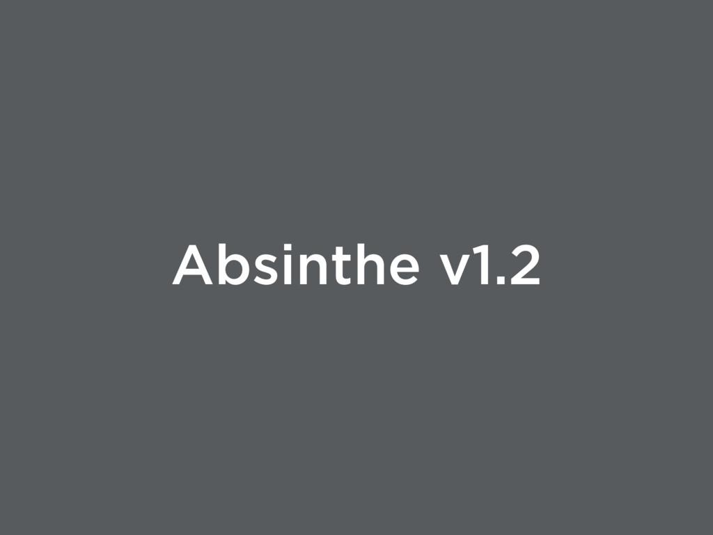 Absinthe v1.2