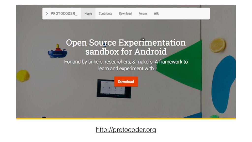 http://protocoder.org