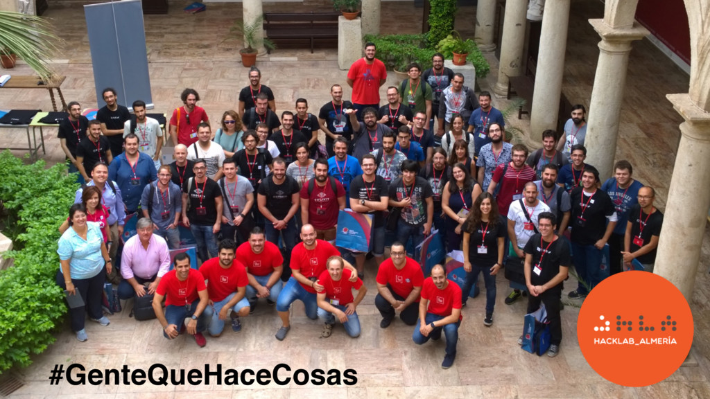 #GenteQueHaceCosas