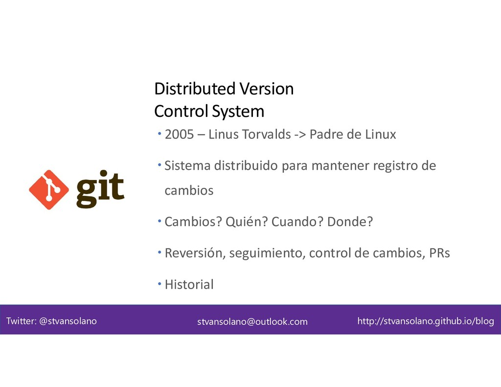 Git - DVCS Distributed Version Control System s...