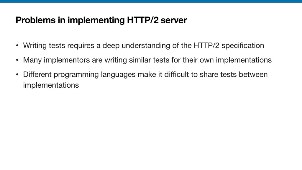 Problems in implementing HTTP/2 server • Writin...