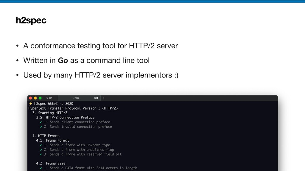 h2spec • A conformance testing tool for HTTP/2 ...