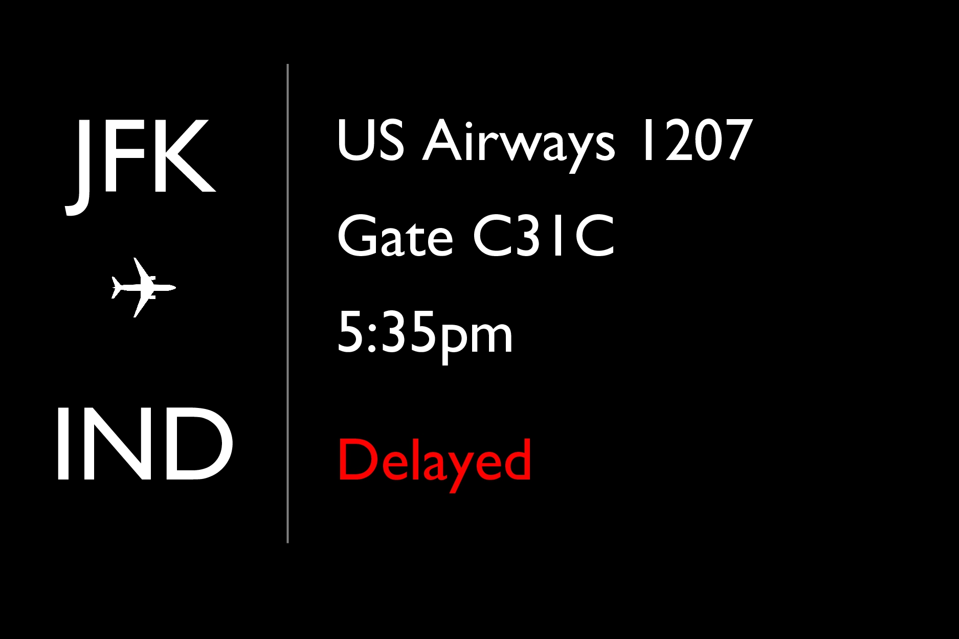 Flight Information Los Angeles (LAX) New York/N...