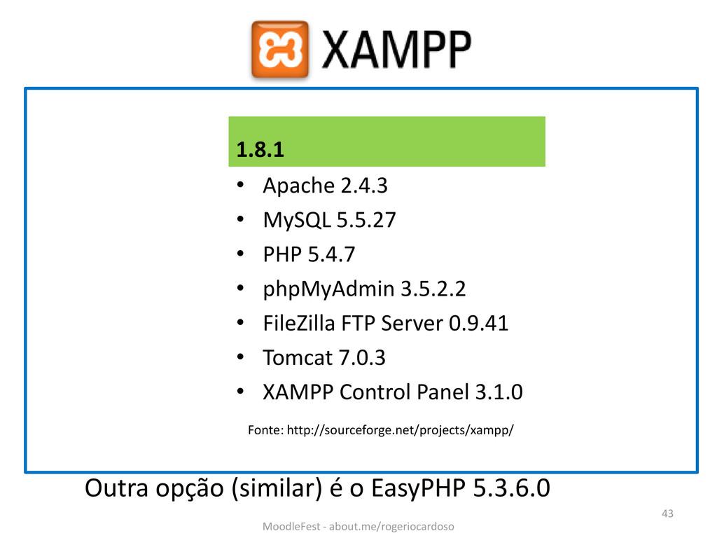 1.8.1 • Apache 2.4.3 • MySQL 5.5.27 • PHP 5.4.7...