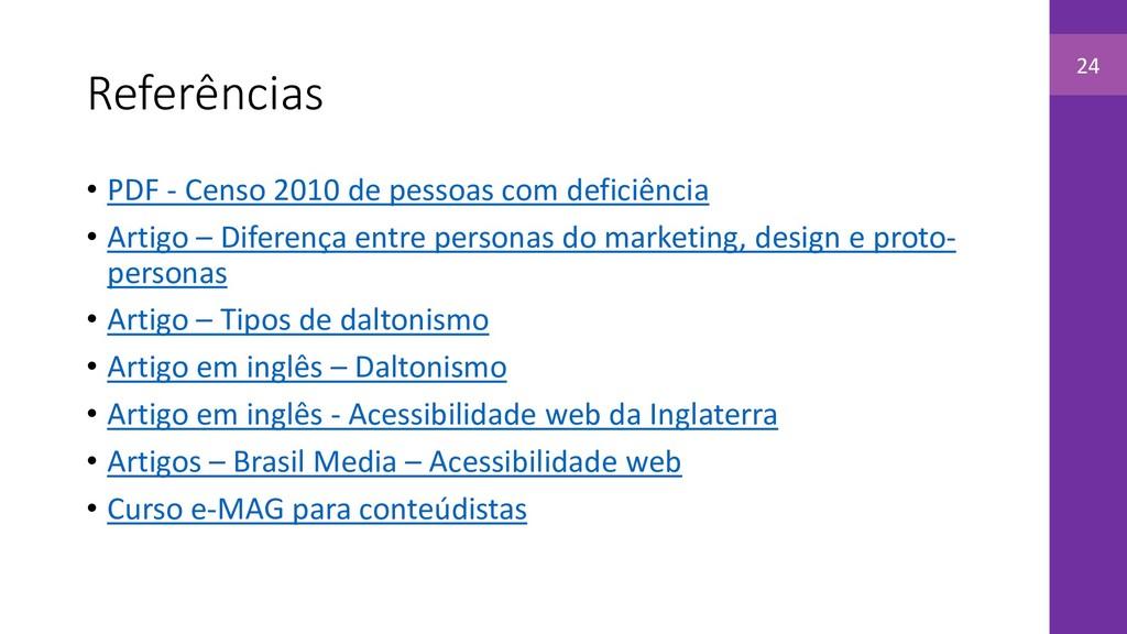 Referências • PDF - Censo 2010 de pessoas com d...
