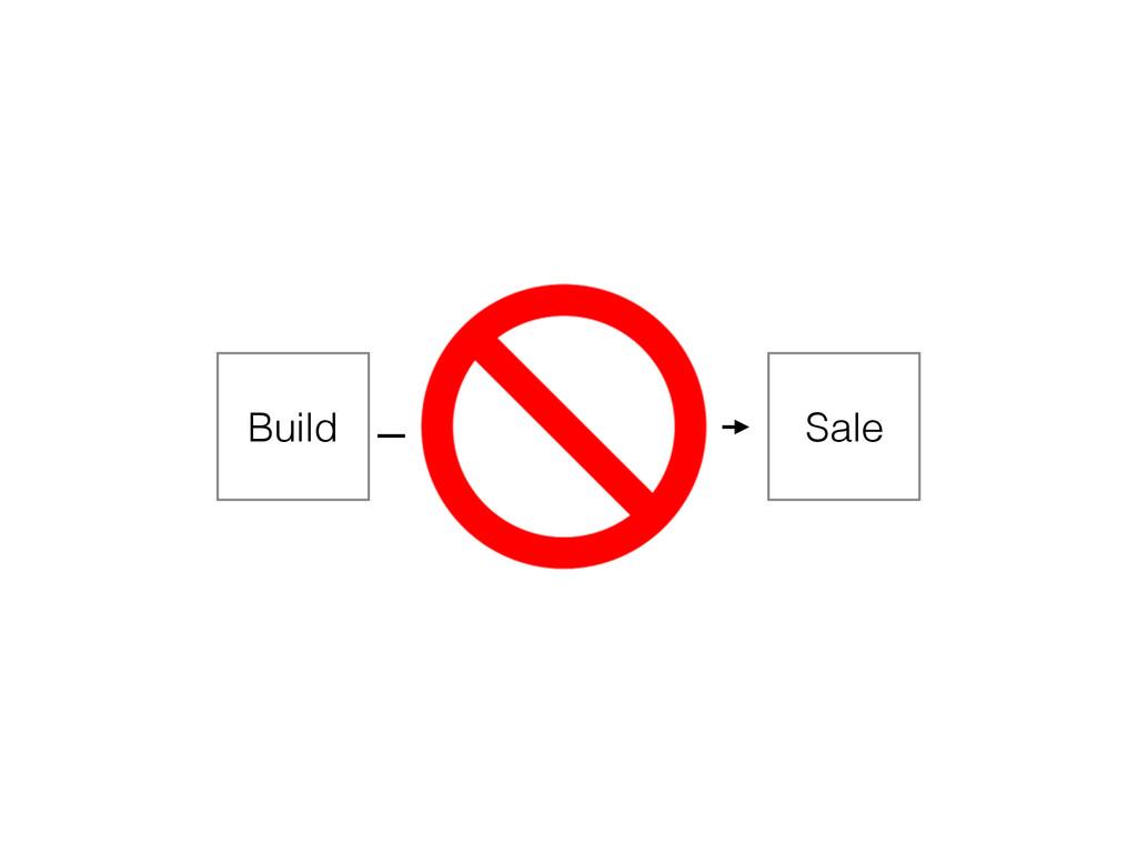 Build Market Sale