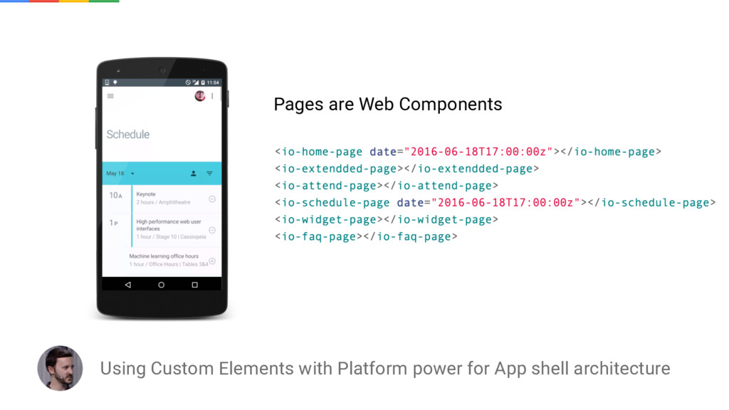 Using Custom Elements with Platform power for A...