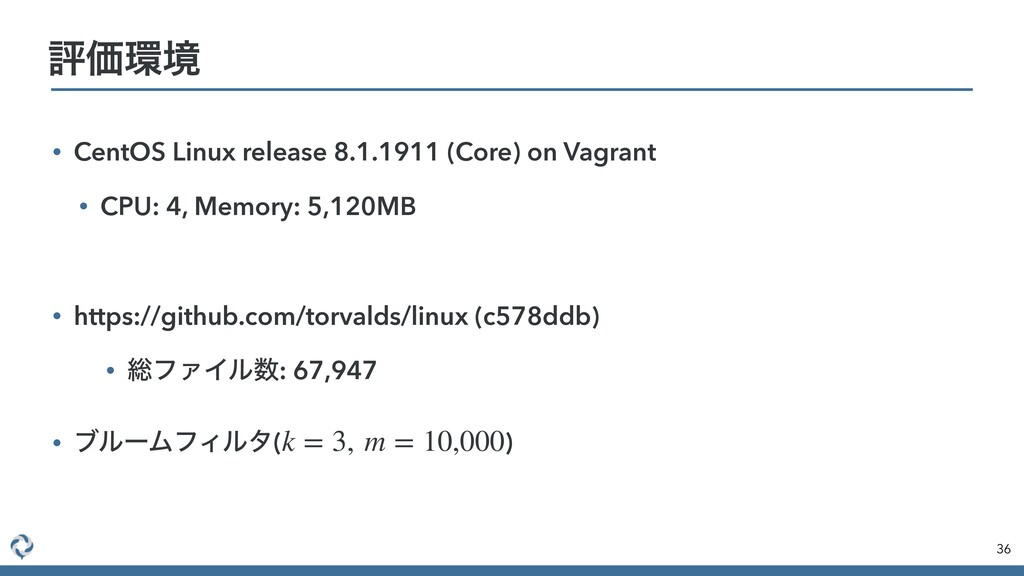 • CentOS Linux release 8.1.1911 (Core) on Vagra...