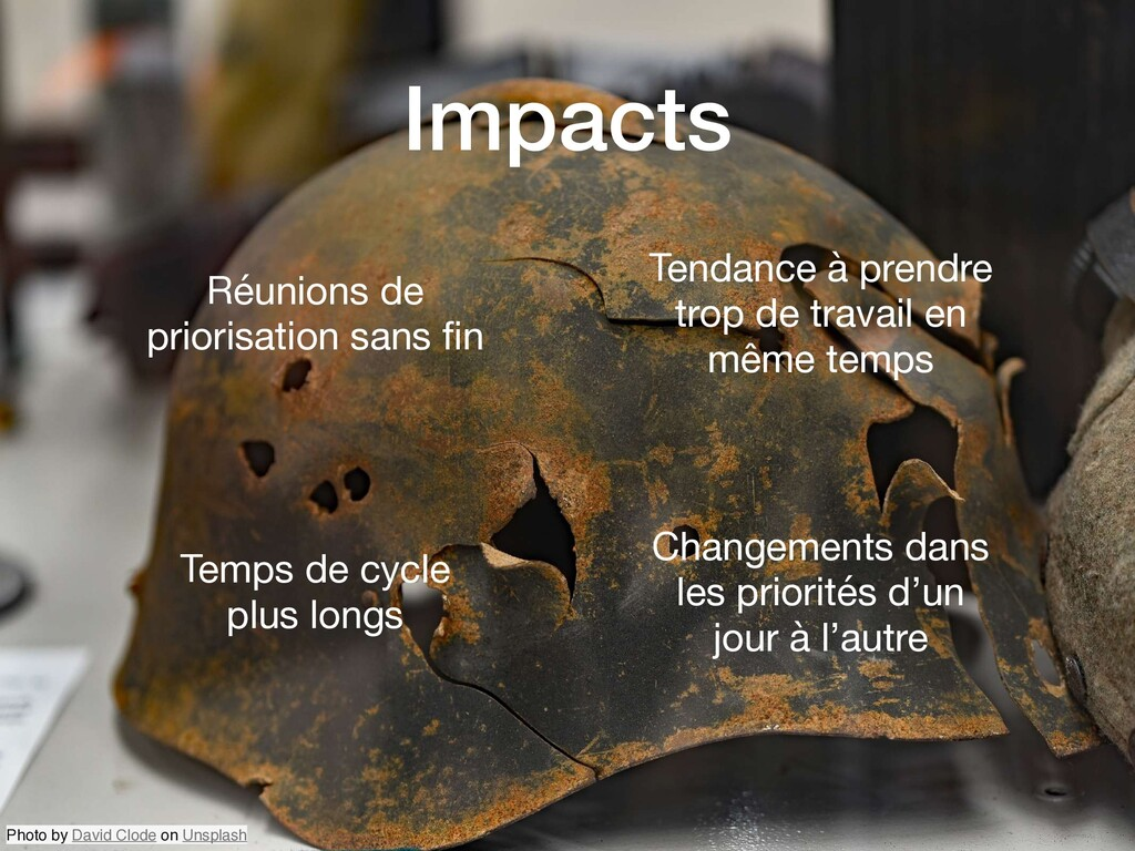 Impacts Photo by David Clode on Unsplash Réunio...