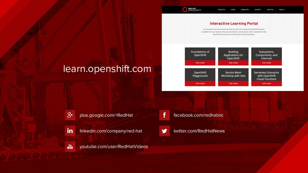 learn.openshift.com plus.google.com/+RedHat lin...