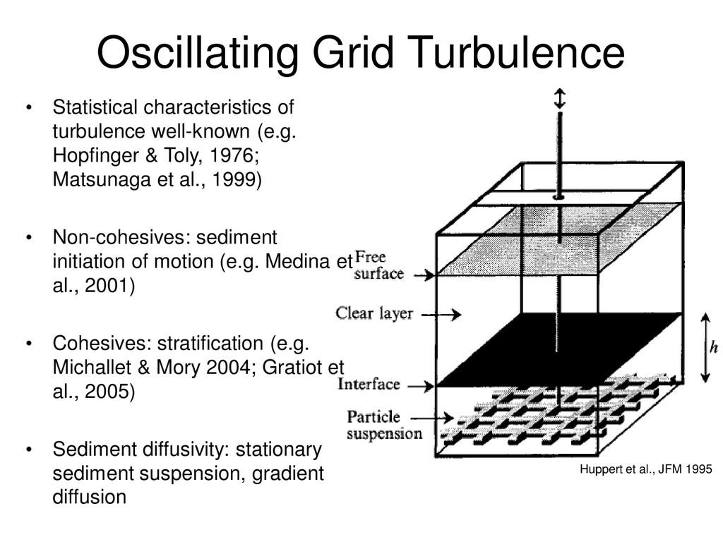 Oscillating Grid Turbulence • Statistical chara...