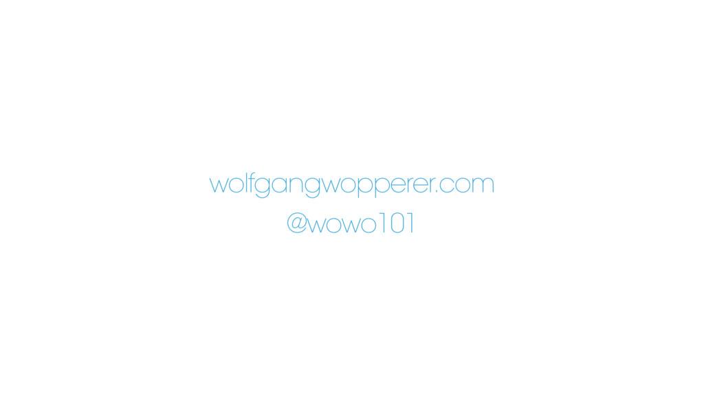 wolfgangwopperer.com @wowo101