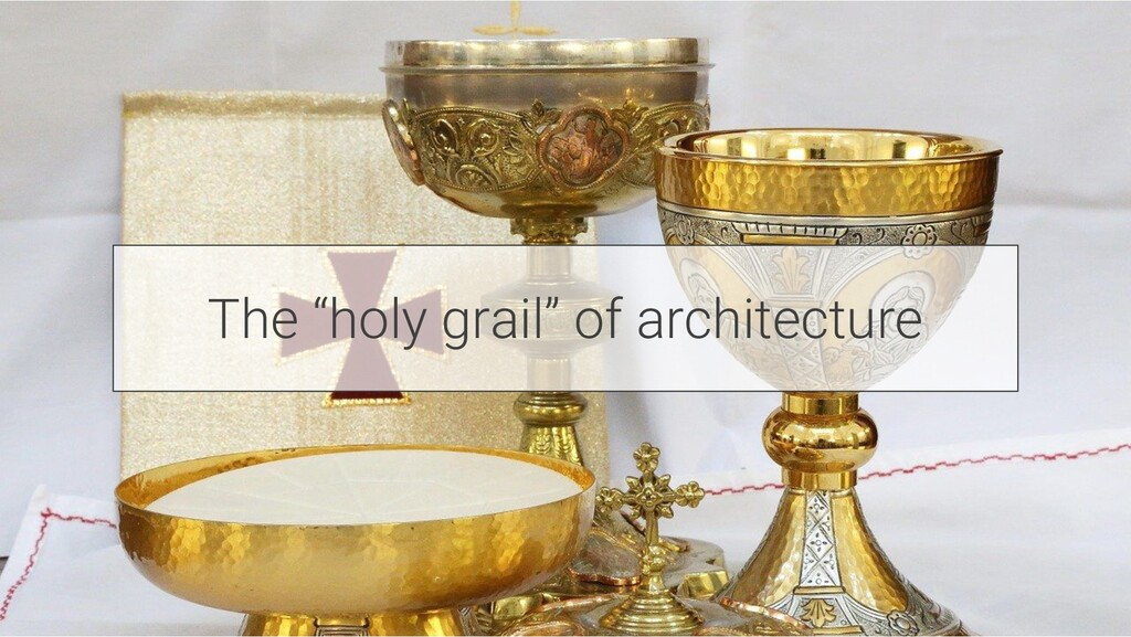 """The """"holy grail"""" of architecture"""