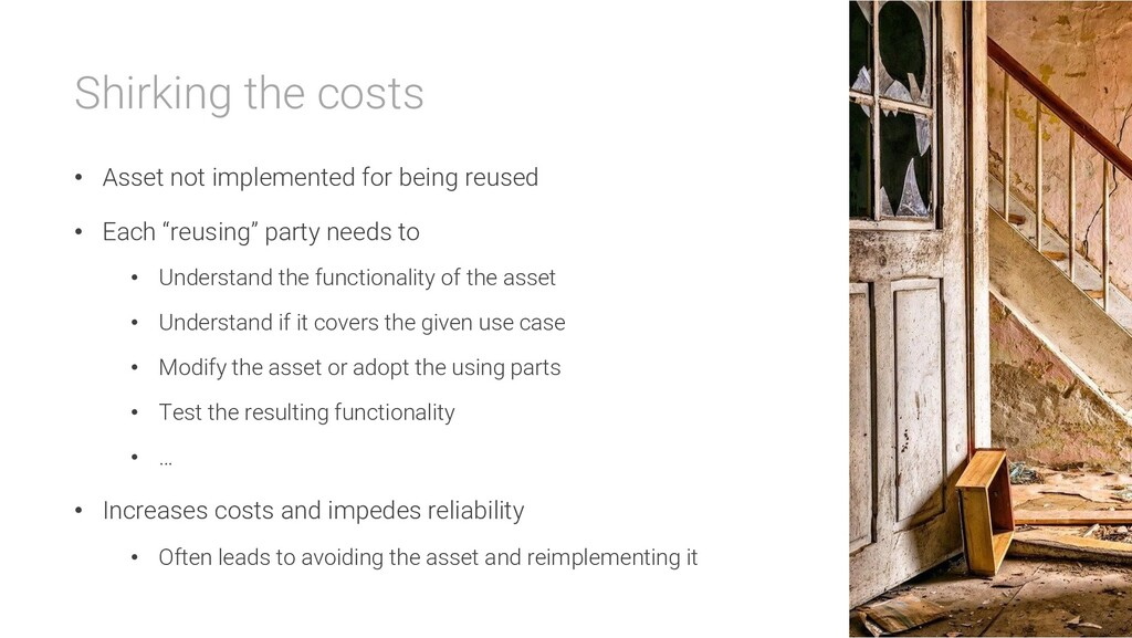 Shirking the costs • Asset not implemented for ...
