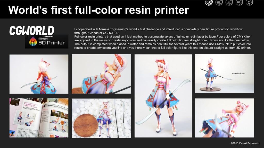 World's first full-color resin printer I cooper...