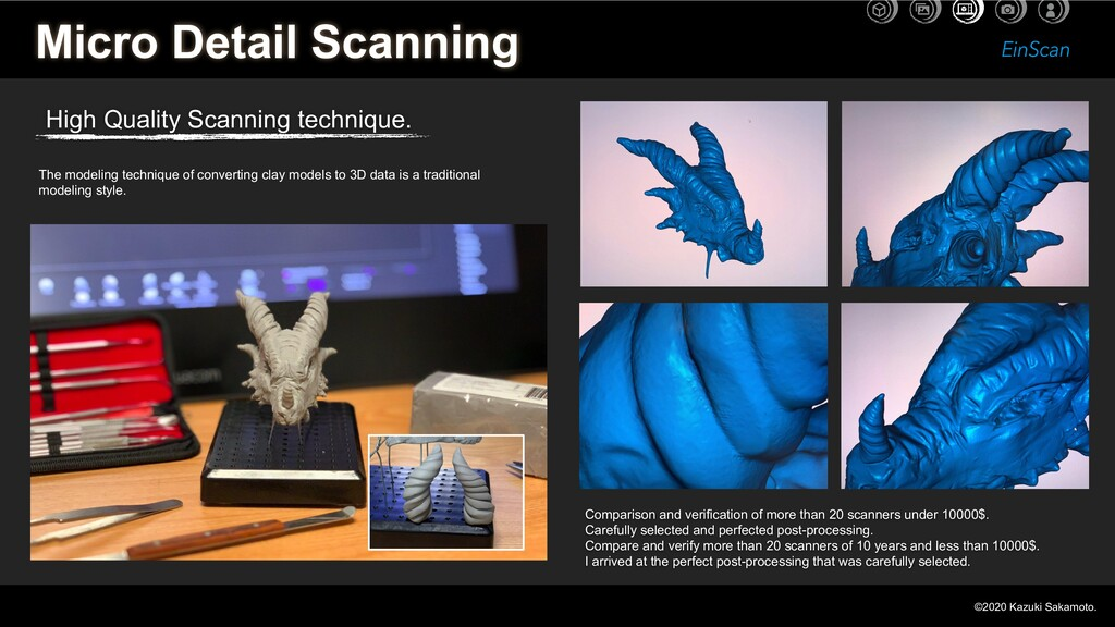 Micro Detail Scanning High Quality Scanning tec...