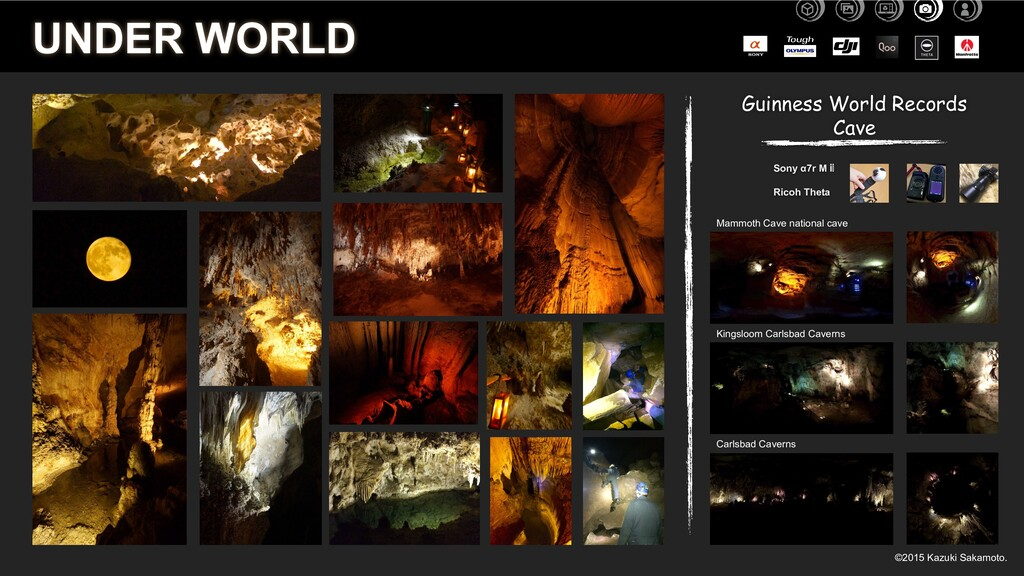 UNDER WORLD Guinness World Records Cave Sony α7...