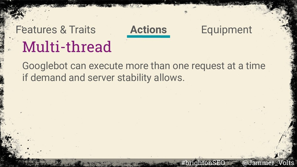 Multi-thread Googlebot can execute more than on...