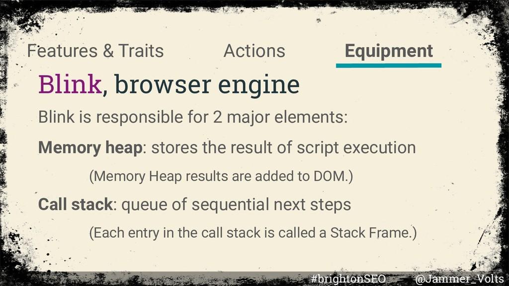 Blink, browser engine Blink is responsible for ...