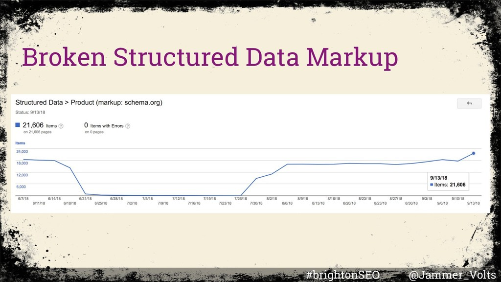 Broken Structured Data Markup #brightonSEO @Jam...
