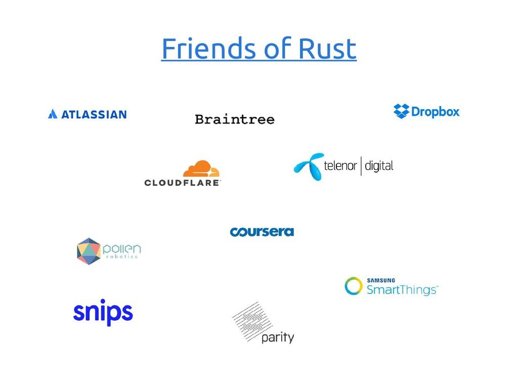 Friends of Rust