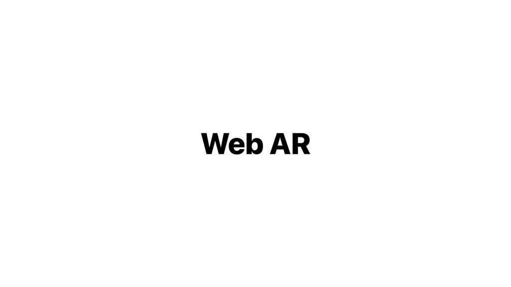 Web AR