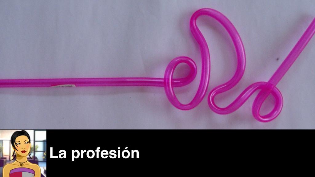 La profesión