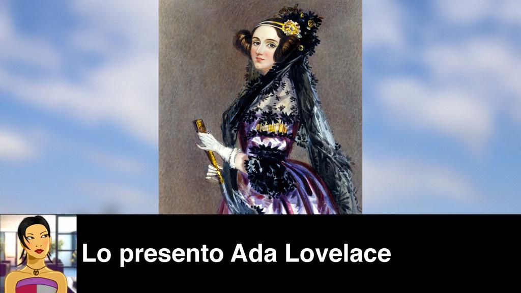 Lo presento Ada Lovelace