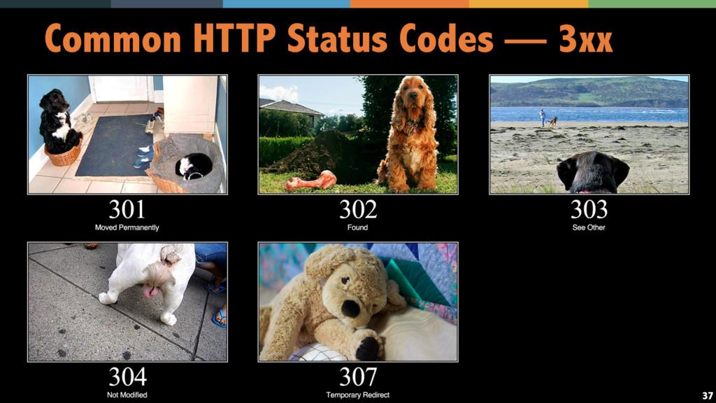 37 Common HTTP Status Codes — 3xx
