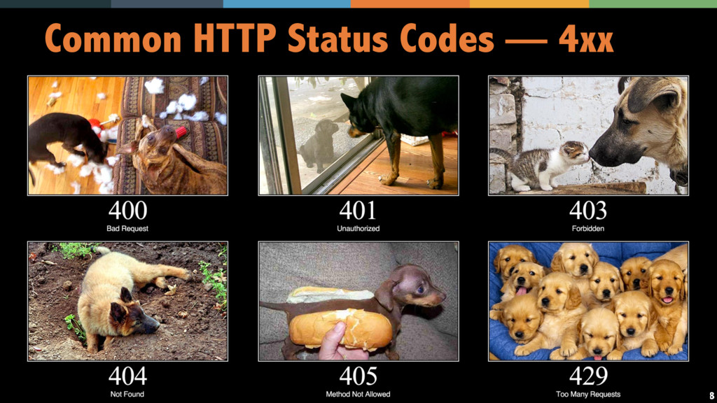 38 Common HTTP Status Codes — 4xx