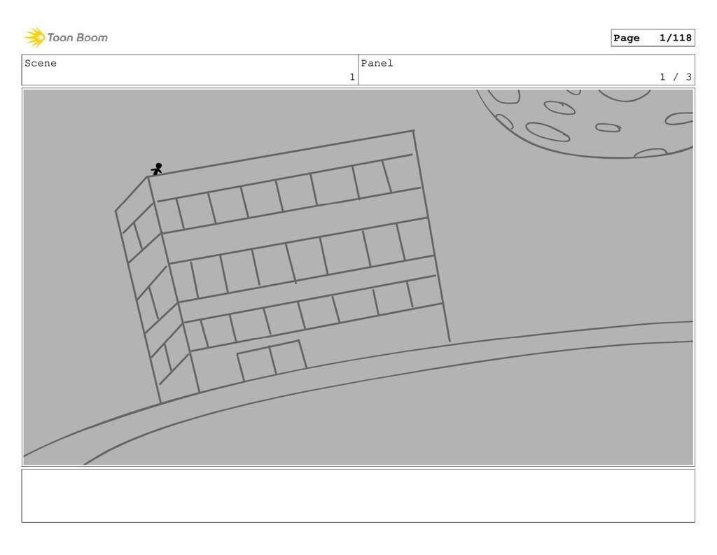 Scene 1 Panel 1 / 3 Page 1/118