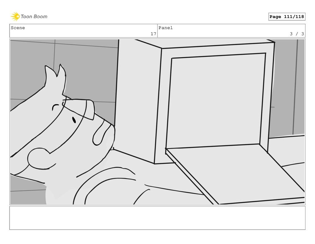 Scene 17 Panel 3 / 3 Page 111/118